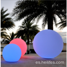 Solar Powered playa LED bola de luz